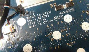 BAP20 LA-D753P Rev1.0_2016-10-20_Motherboard