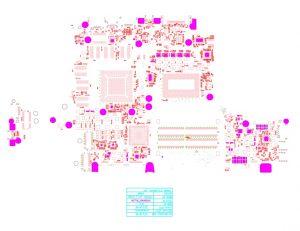 Dell Alienware 13 R3 LA-D581P BAP00 Schematic & Boardview