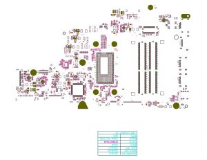 Dell Inspiron 15-5567 Compal BAL21 LA-D802P Schematic & Boardview