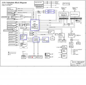 Lenovo Thinkpad T570 Wistron LTS-1 16820-1 Rev 1 Schematic