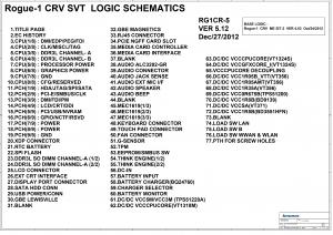 Lenovo Thinkpad X230S VIUX0 NM-A021 Schematic