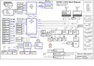 Wistron Kome-1 SWG2 LKM-1 SWG2 MB 12308