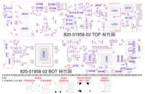 Apple MacBook Air 13 2020 A2179 X1783 820-01958 051-05232 Schematic & Boardview
