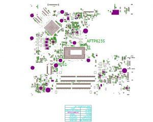 Dell Inspiron 14 5468 5566 Compal LA-D871P BAL60 Boardview