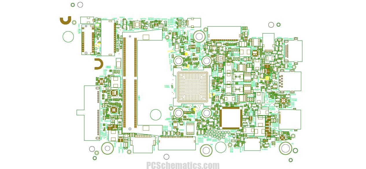 Dell Inspiron 3180 3185 17876-1 AMD Schematic & Boardview