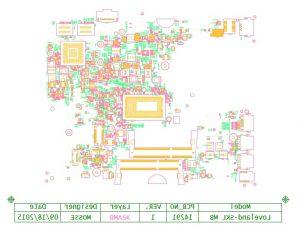 Dell Latitude 3470 3570 Wistron Loveland-SKL 14291 Schematic & Boardview