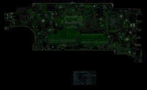 Dell Latitude 5400 5500 Precision 3540 Compal EDC41 LA-G891P Schematic & Boardview
