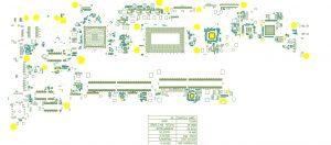 Dell Latitude 5401 5501 Precision 3541 Compal EDC42 LA-H171P Schematic & Boardview