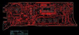Dell XPS 13 9360 Compal CAZ00 LA-D841P Schematic & Boardview