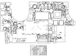 Lenovo IdeaPad 720S-14IKB Compal CIZVO/S0 LA-E581P PDF Boardview