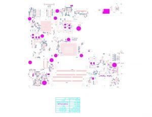 Dell Inspiron 5455 5555 5755 AAL12 LA-C142P Schematic & Boardview