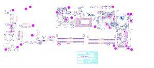 Dell Latitude 7290 7390 7490 DAZ40 LA-F322P Schematic & Boardview